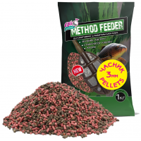 Pellets метод фідер Часник 3мм / 1000 грам