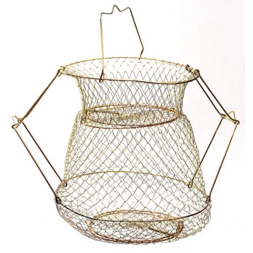 Садок металевий фіксується, діаметр 30х39 см