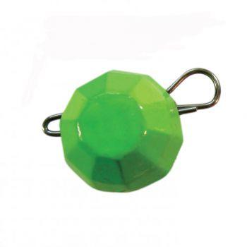 """""""Гранований розбірний"""", колір Зелений, 4 грама, 10шт/уп."""