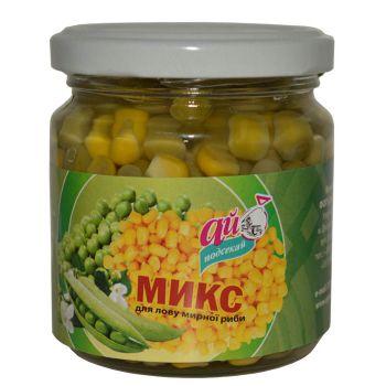 МІКС горох+кукурудза