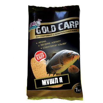 """GOLD CARP"" мушля (ракушка) 1000г"