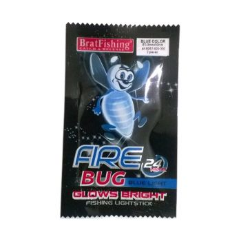 Світлячки Bratfishing Fire Bug Blue Ø3.0*25 мм / 2 шт
